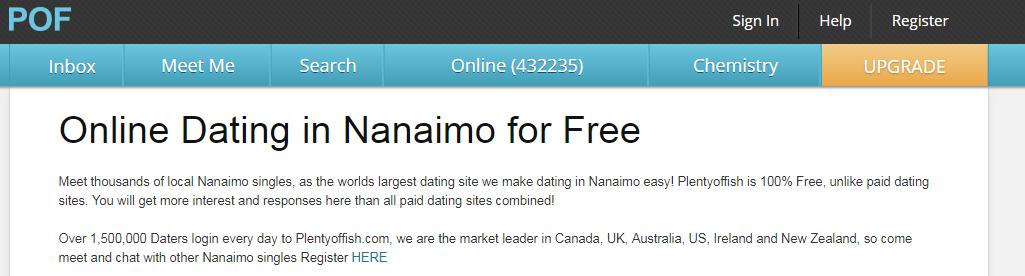 Plenty of Fish Nanaimo Login And Reset