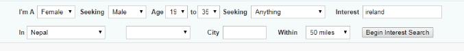 POF Boston Search Function