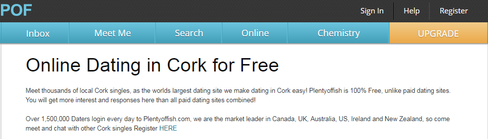 Cork dating site - free online dating in Cork (Ireland)