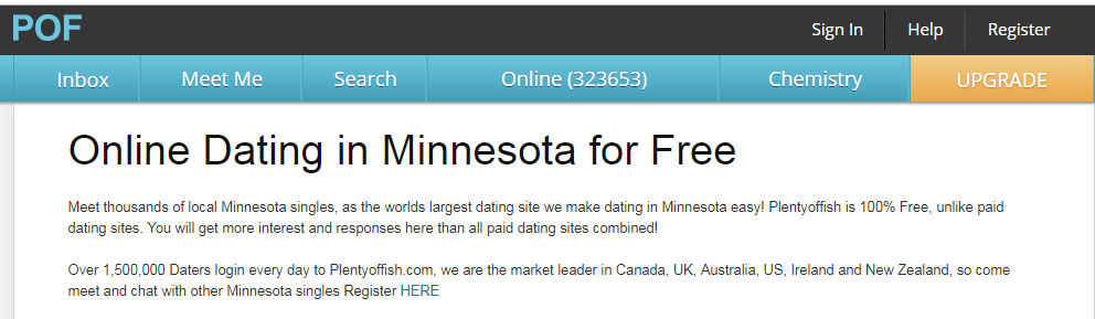 Plenty of Fish Minnesota Login Steps